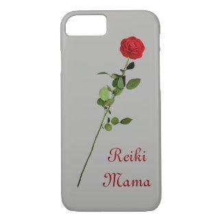 Funda Para iPhone 8/7 Diseño de la mamá de Reiki del rosa rojo