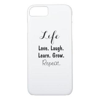 Funda Para iPhone 8/7 Diseño de la vida