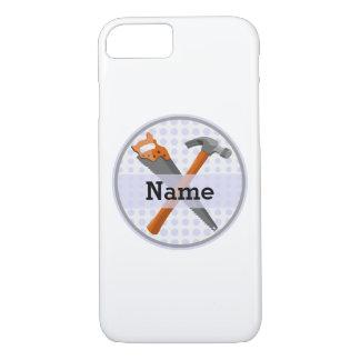 Funda Para iPhone 8/7 Diseño personalizado nombrado de las herramientas