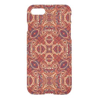 Funda Para iPhone 8/7 Diseño rizado dibujado mano colorida abstracta del