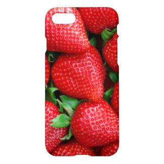 Funda Para iPhone 8/7 Diseño rojo del modelo de las fresas