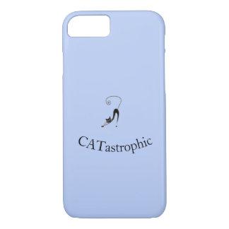 Funda Para iPhone 8/7 ¡Diseño único del gato para la gente CATASTRÓFICA!