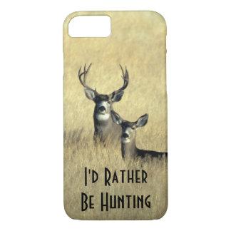 Funda Para iPhone 8/7 dólar masculino del ciervo mula de la cola blanca