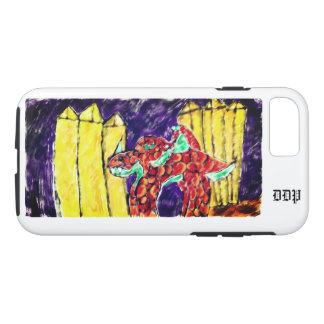Funda Para iPhone 8/7 Dragón y Topaz