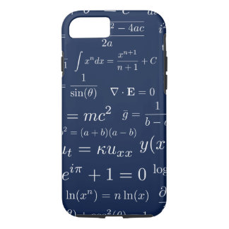 Funda Para iPhone 8/7 Ecuaciones de la caja del teléfono de la