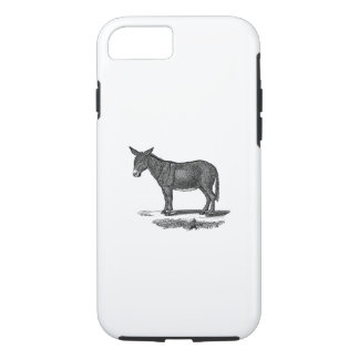 Funda Para iPhone 8/7 Ejemplo del burro del vintage - burros 1800's