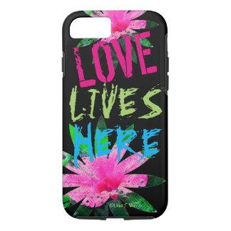 Funda Para iPhone 8/7 El amor vive - el iPhone 7, caja dura de Apple del