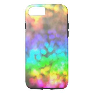 Funda Para iPhone 8/7 El arco iris psicodélico enciende el caso del