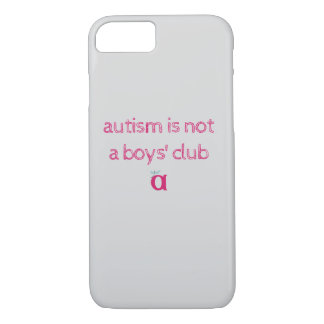 Funda Para iPhone 8/7 el autismo no es un caso incompleto del club de