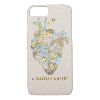 Funda Para iPhone 8/7 El corazón de un viajero