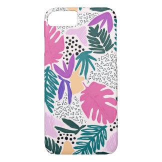 Funda Para iPhone 8/7 El corte forma la cubierta tropical del teléfono