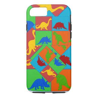 Funda Para iPhone 8/7 El dinosaurio juega el caso del iphone