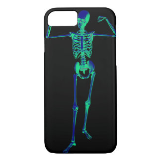 Funda Para iPhone 8/7 El esqueleto deshuesa la caja del teléfono