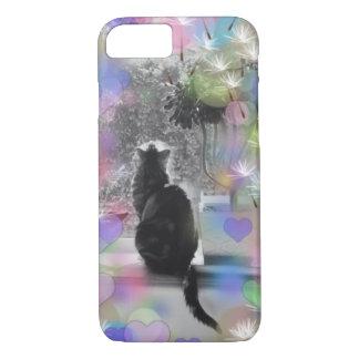 Funda Para iPhone 8/7 El gatito del amante del gato