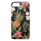 Funda Para iPhone 8/7 El hibisco tropical de la piña florece la cubierta