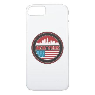 Funda Para iPhone 8/7 El horizonte el | Estados Unidos de Nueva York