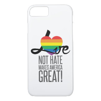 Funda Para iPhone 8/7 El iPhone y Samsung del odio del amor no (arco