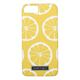 Funda Para iPhone 8/7 El limón amarillo del verano corta la caja del