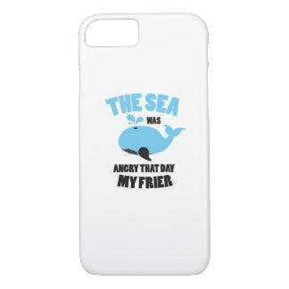 Funda Para iPhone 8/7 El mar estaba enojado que día mis amigos