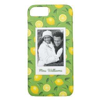 Funda Para iPhone 8/7 El modelo amarillo brillante el | del limón añade