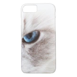 Funda Para iPhone 8/7 El ojo de gato azul