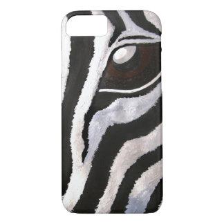 Funda Para iPhone 8/7 El ojo de la cebra (arte de Kimberly Turnbull)