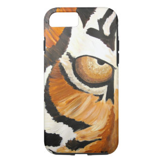 Funda Para iPhone 8/7 El ojo del tigre (arte de Kimberly Turnbull)