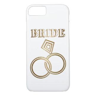 Funda Para iPhone 8/7 El oro ligado suena el boda de la novia