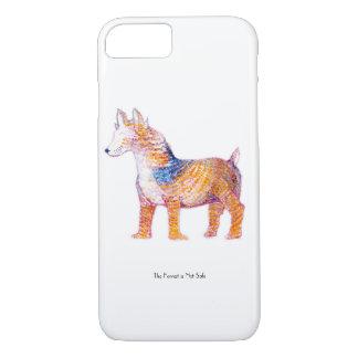 Funda Para iPhone 8/7 El perro 2,0 de la llama - criatura híbrida en