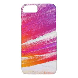 Funda Para iPhone 8/7 El rosa a la púrpura se descoloró los movimientos