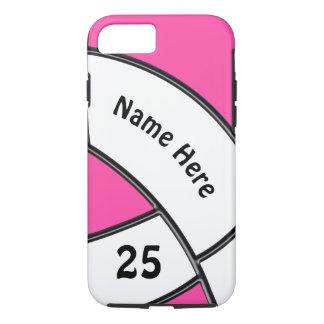 Funda Para iPhone 8/7 El teléfono personalizado del voleibol encajona