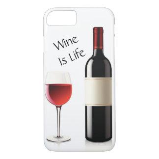 Funda Para iPhone 8/7 El vino es vida