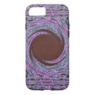Funda Para iPhone 8/7 En el pañuelo rosado de Colorfoil