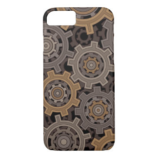 Funda Para iPhone 8/7 Engranajes industriales del estilo de Steampunk