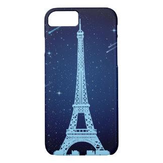 Funda Para iPhone 8/7 Escena de la noche de la torre Eiffel