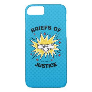 Funda Para iPhone 8/7 Escritos de capitán Underpants el | de la justicia