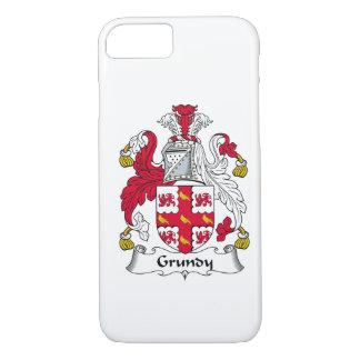 Funda Para iPhone 8/7 Escudo de la familia de Grundy