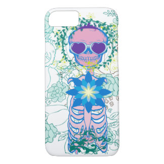Funda Para iPhone 8/7 Esqueleto femenino