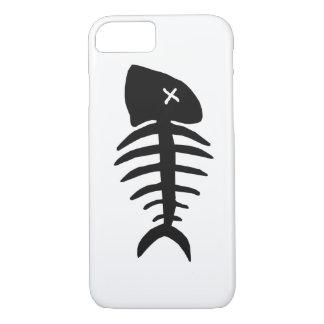 Funda Para iPhone 8/7 esqueleto muerto de los pescados