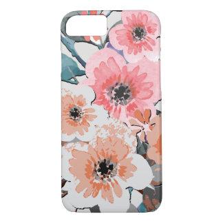Funda Para iPhone 8/7 Estampado de flores #11 de la acuarela del vintage