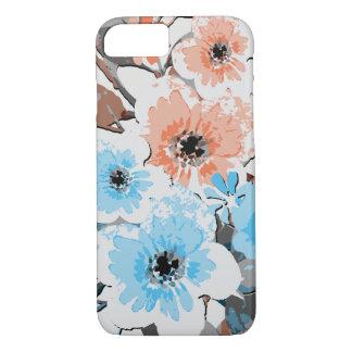 Funda Para iPhone 8/7 Estampado de flores #19 de la acuarela del vintage