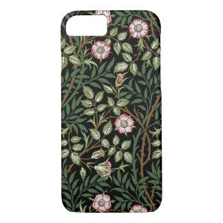 Funda Para iPhone 8/7 Estampado de flores dulce del vintage del Briar de
