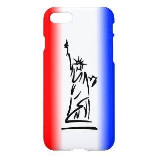 Funda Para iPhone 8/7 Estatua de la libertad Nueva York