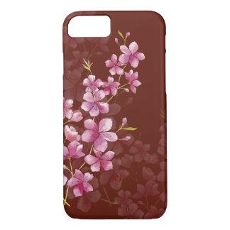 Funda Para iPhone 8/7 Estilo floral de la acuarela de la flor de cerezo