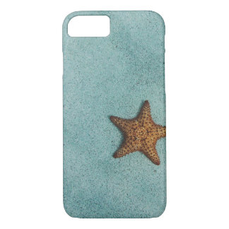 Funda Para iPhone 8/7 Estrellas de mar simples en la foto de la playa