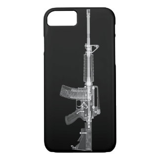 Funda Para iPhone 8/7 EXPLORACIÓN real de AR-15 CT de la ALTA