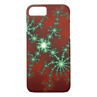 Funda Para iPhone 8/7 Explosión de color abstracta del navidad