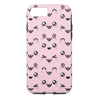 Funda Para iPhone 8/7 Expresiones faciales de Kawaii: iPhone 8 o caso 7