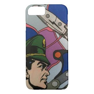 Funda Para iPhone 8/7 Extracto atómico la pintura del capitán de Rocket