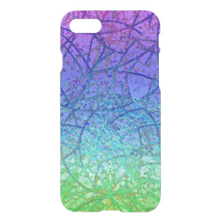 Funda Para iPhone 8/7 extracto del arte del Grunge del caso del iPhone 7